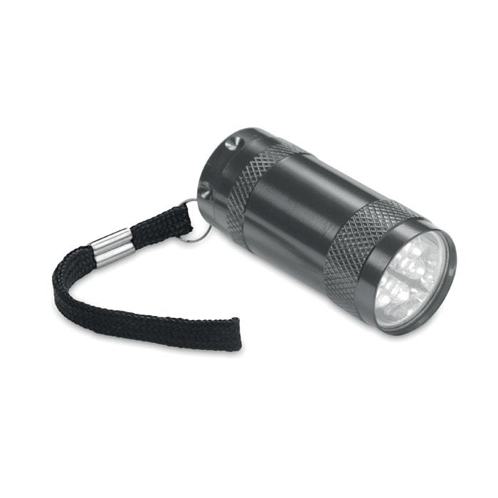 Mini-lanternă aluminiu+lanyard MO7680-18