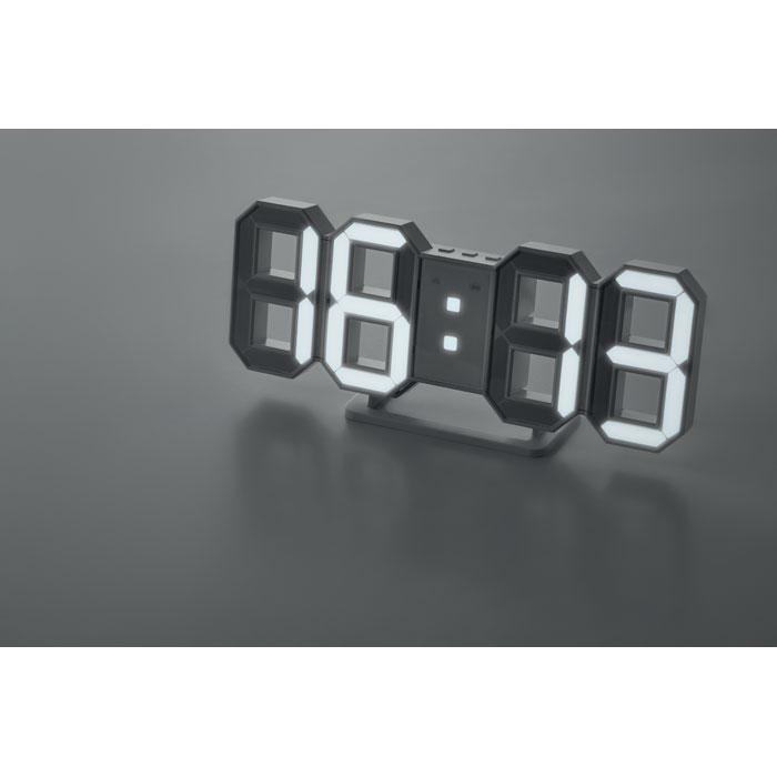 Ceas de perete LED cu adaptor  MO9509-06