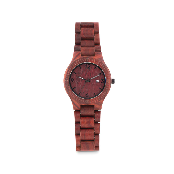 Ceas din lemn, în cutie        MO9582-01
