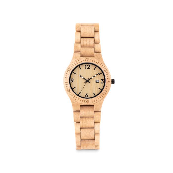 Ceas din lemn, în cutie        MO9582-40
