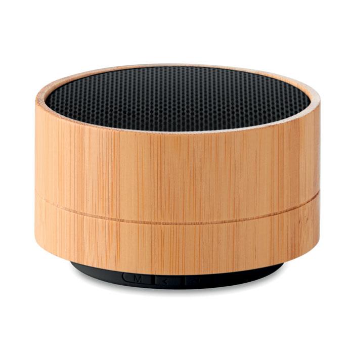 Boxă Bluetooth din bambus 3W   MO9609-03
