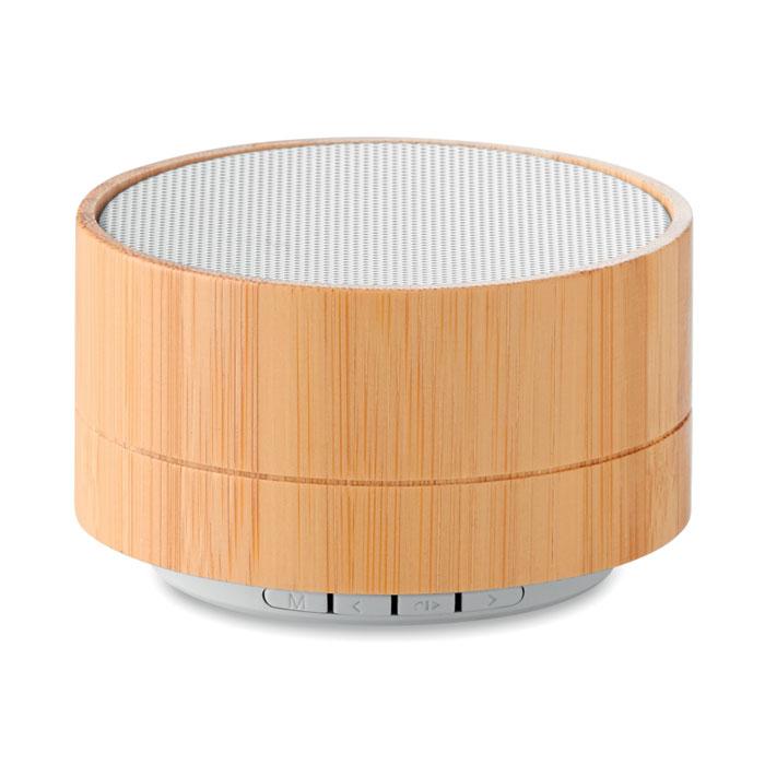 Boxă Bluetooth din bambus 3W   MO9609-06