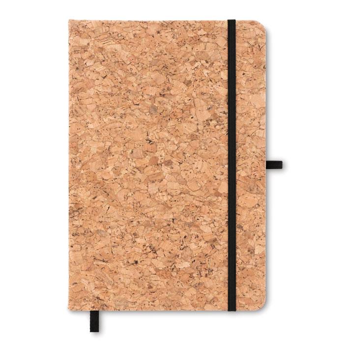Notes A5 cu copertă din plută  MO9623-03