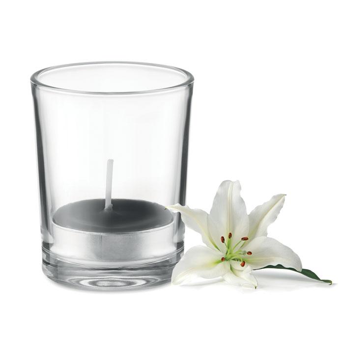 Lumânare aromatizată în sticlă MO9734-03