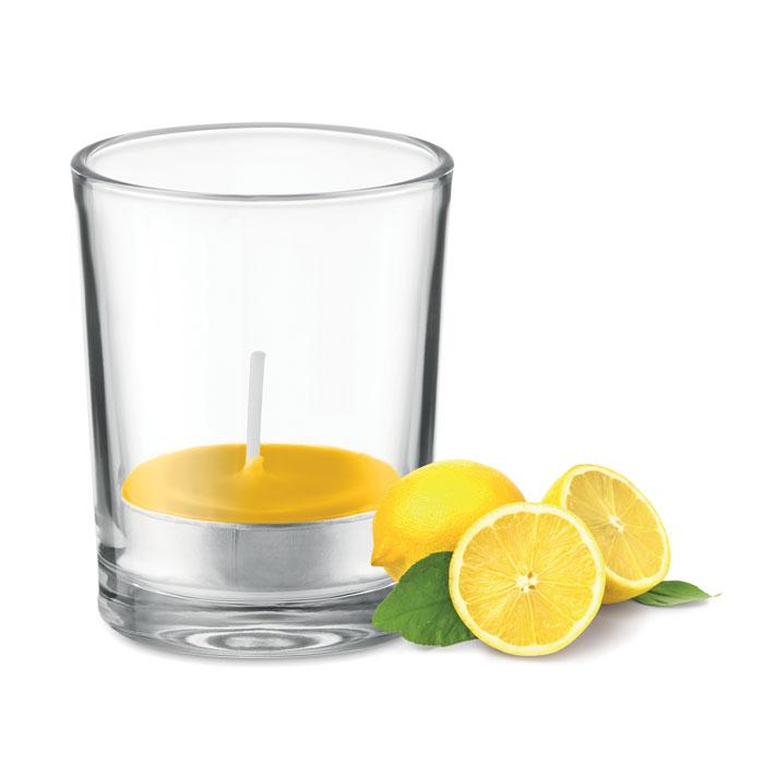 Lumânare aromatizată în sticlă MO9734-08