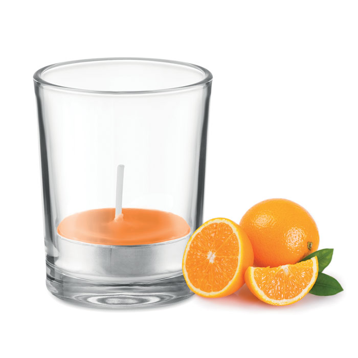 Lumânare aromatizată în sticlă MO9734-10