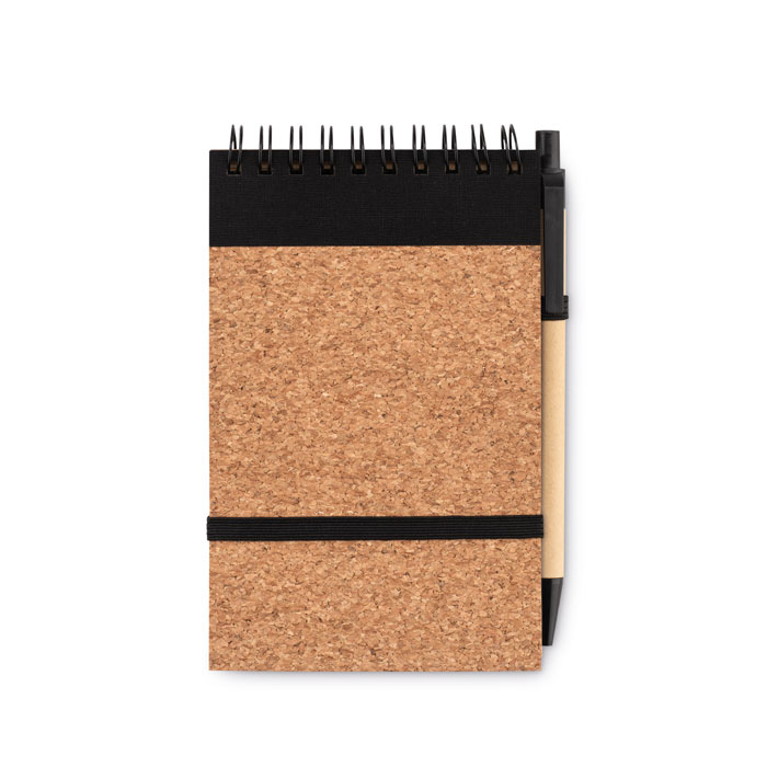Notes A6, copertă plută,  pix. MO9857-03