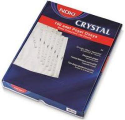 Folie protectie A4 Cristal 100/set 90microni Noki