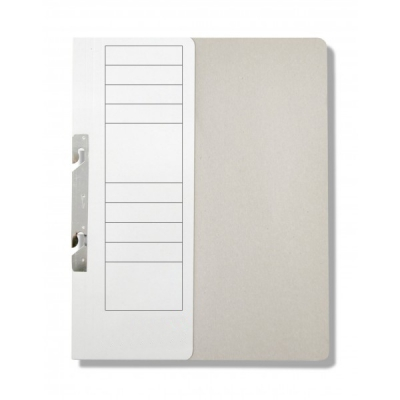 Dosar carton incopciat 1/2, carton duplex 230 gr , alb