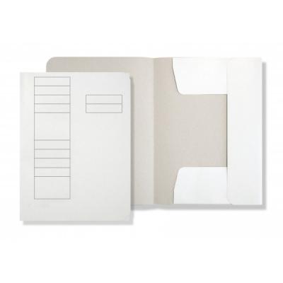 Dosar carton plic , carton duplex 230 gr, alb