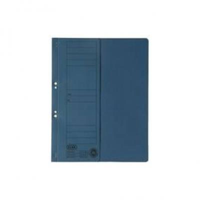Dosar carton cu capse 1/2 albastru ELBA