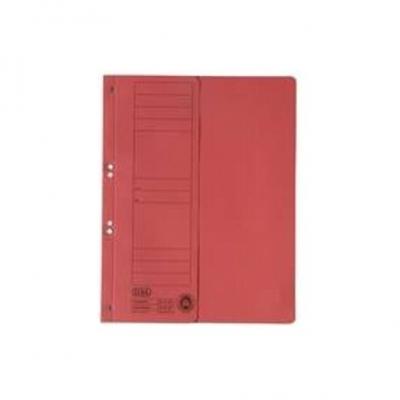 Dosar carton cu capse 1/2 ELBA - rosu