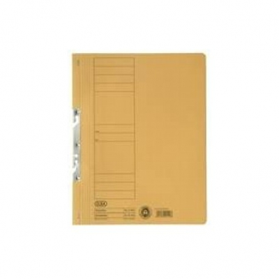 Dosar carton incopciat 1/1 galben ELBA