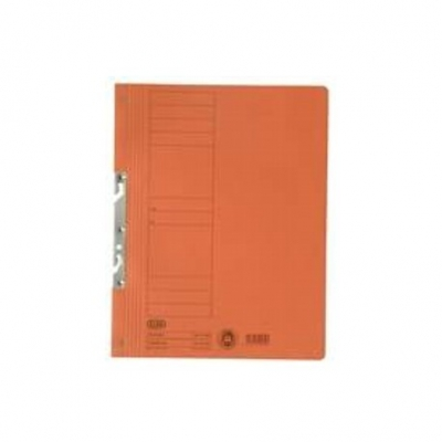 Dosar carton incopciat 1/1 portocaliu ELBA
