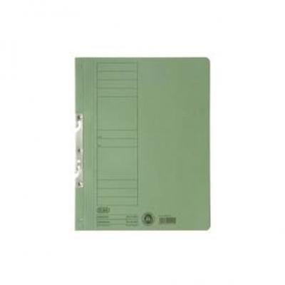 Dosar carton incopciat 1/1 verde ELBA