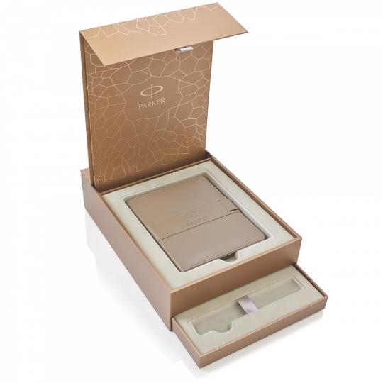 Cutie Cadou Parker Premium cu Notebook
