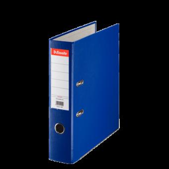 Biblioraft plastifiat 7.5 cm albastru economy ESSELTE