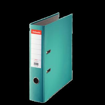Biblioraft plastifiat 7.5 cm turquise economy ESSELTE