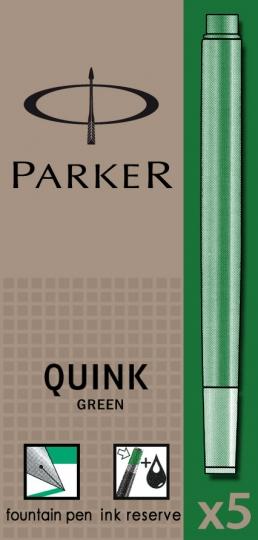 Verde permanent  Parker Cartus Quink Standard