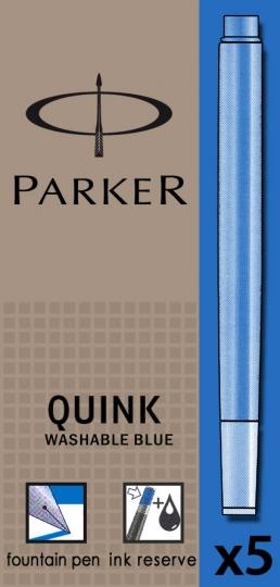 Albastru lavabil  Parker Cartus Quink Standard