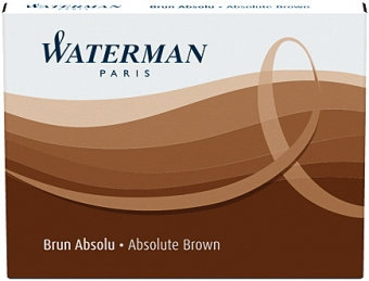 Absolute Brown permanent Waterman Cartus Standard