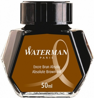 Absolute Brown permanent Waterman Calimara Standard