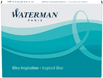 Inspired Blue permanent Waterman Cartus Standard
