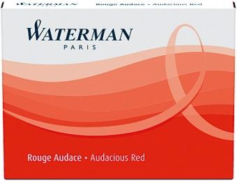 Audacious Red permanent Waterman Cartus Standard