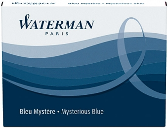 Mystery Blue permanent Waterman Cartus Standard