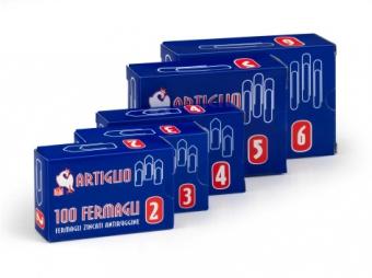 Agrafe metalice 50mm, 100/cutie, ARTIGLIO