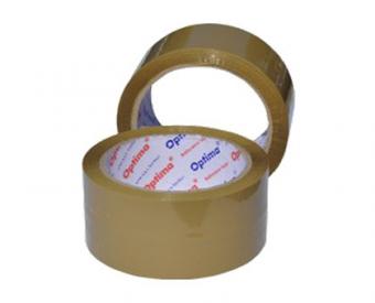 Banda adeziva 75mm x 66 y, 43 microni - maro