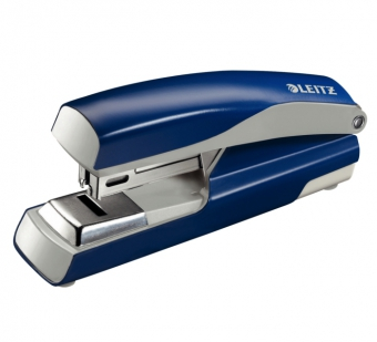 Capsator cu capsare plata,  30 coli, metalic, LEITZ 5505 - albastru