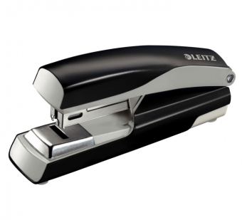 Capsator cu capsare plata,  30 coli, metalic, LEITZ 5505 - negru