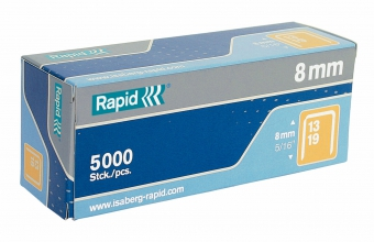 Capse RAPID 13/10, 5000 buc/cutie - pentru pistol de capsat RAPID M10Y