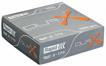 Capse RAPID, 1000 buc/cutie - pentru capsator RAPID Duax