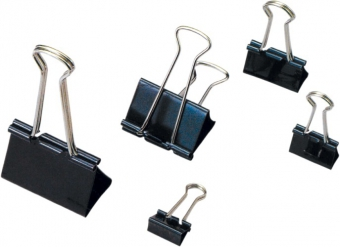 Clip hartie 19mm, 12buc/cutie, ARTIGLIO - negru