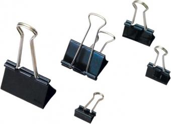 Clip hartie 25mm, 12buc/cutie, ARTIGLIO - negru
