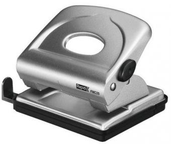 Perforator metalic 25 coli, RAPID FMC25 - argintiu