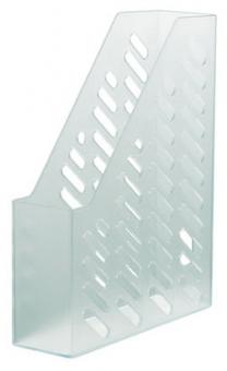 Suport vertical plastic pentru cataloage HAN Klassik - transparent mat