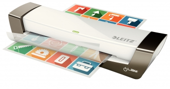 Laminator LEITZ iLAM Office A4, 80-125 microni - argintiu