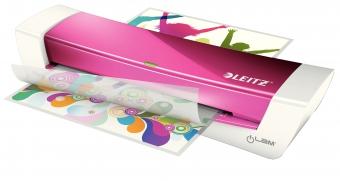 Laminator LEITZ iLAM Home Office A4, 80-125 microni - roz