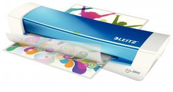 Laminator LEITZ iLAM Home Office A4, 80-125 microni - albastru