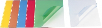 Coperta plastic A4, 200 microni, 100/top OPUS - transparent cristal