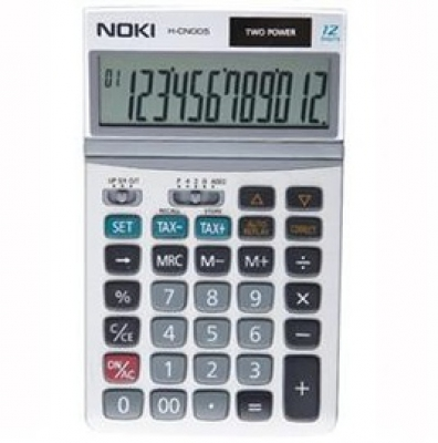 CALCULATOR BIROU 12 DIG HCN005 NOKI