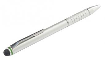 Pix LEITZ Stylus, 2 în 1 pentru touchscreen - argintiu