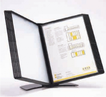 Display birou (suport pentru 10 buzunare A4), PROBECO-EasyMount - antracit
