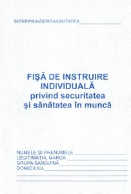 Fisa individuala protectia muncii