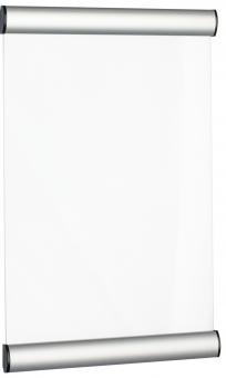 Suport metalic pentru nume, pentru semnalizare usa, 33 x 21 cm, ALCO