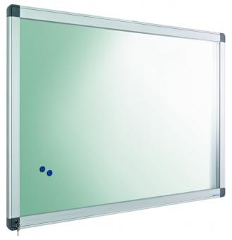 Avizier interior/exterior Recto, tabla alba magnetica, 18 x A4, 90 x 127 cm, SMIT