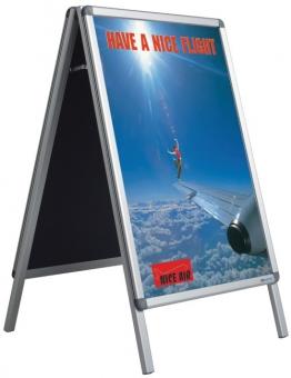 Stand metalic pentru postere A1 (84 x 59 cm), SMIT A-board